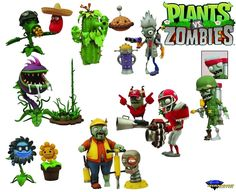 Plants vs. Zombies Garden Warfare Select Figure Two Pack