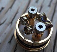 Twisted vape coil #efuntop #vapelife #vaping #ecig #diycoil #ecigarette #twistedcoil