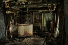 Flooded Utility Room by abandonednyc, via Flickr