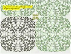 Crocheted motif no. Blanket Stitch, Afghan Blanket, Stitch 2, Crochet Curtains, Crochet Pillow, Crochet Home, Knit Crochet, Crochet Square Blanket, Crochet Motif Patterns