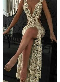 92eaea8662 Image result for sexy evening gowns Lace Prom Dresses