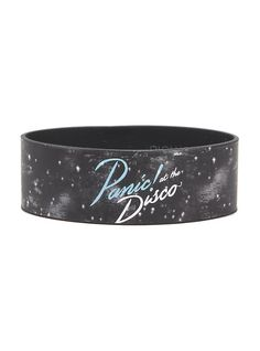 Panic! At The Disco Galaxy Rubber Bracelet,
