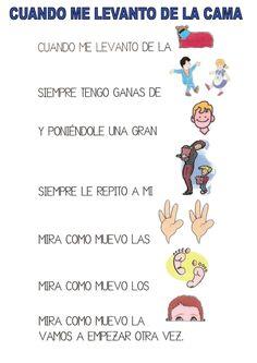 pictogramas poesias, adivinanzas canciones Spanish Basics, Music Classroom, Teaching Spanish, Preschool Activities, Montessori, Children, Kids, Homeschool, Language