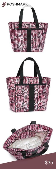 LeSportsac Small Everyday Tote NWOT BRAND NEW. NEVER USED. NWOT. 100% nylon material. Dimensions and details included in image above. LeSportsac Bags Mini Bags
