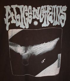 181aa8cdd48 Layne's xray of his broken foot became tour t-shirt logo :) Jerry Cantrell