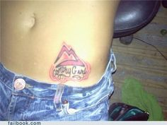 Page 53 of 398 - bad tattoos Bad Tattoos, Fish Tattoos, Tattoo Fails, Deathly Hallows Tattoo, Fail Tattoos