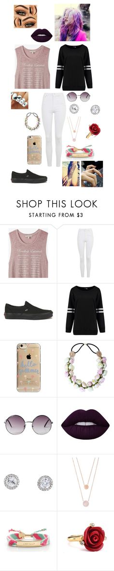 """Emily's outfit 1"" by jesily-murphy on Polyvore featuring Express, Topshop, Vans, My Little Pony, Agent 18, Monki, Lime Crime, Michael Kors, Kate Spade and Oscar de la Renta"