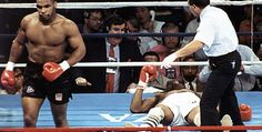 Mike Tyson Vs. Michael Spinks : knocking out 91 seconds