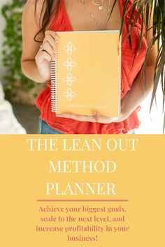 The only planner designed exclusively for small business owners and entrepreneurs, with a proven method to help you achieve your biggest goals, scale to the next level, and increase profitability!   #businessplanner #smallbusinessplanner #businessplanning #planneraddict #entrepreneurplanner #achieveyourgoalsplanner Business Planner, Business Tips, Boss Babe Entrepreneur, How To Lean Out, Boss Babe Quotes, 90 Day Challenge, Business Inspiration, Bossbabe, Starting A Business