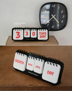 mmg manual flip calendar