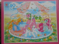 my little pony G1 puzzle  merry go round