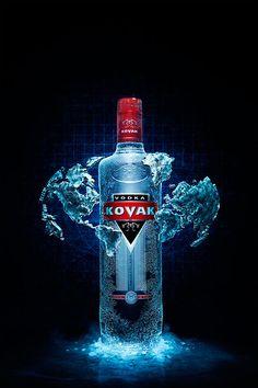 Frost Kovak vodka on Behance
