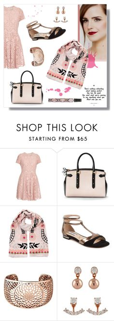 """""""London Calling"""" by romaosorno ❤ liked on Polyvore featuring Emma Watson, Burberry, Aspinal of London, Temperley London, Lucy Choi London, Links of London, Buckley and Lipsy"""