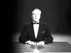 """Opening Scene from the movie """"Plan 9 From Outer Space"""". According to IMDB the worst movie of all times, made by the worst director of all times Ed Wood. This scene contains my favorite quote: """"We are all interested in the future, for that is where you and I are going to spend the rest of our lives."""""""