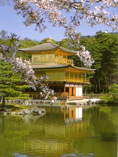 Kinkaku-ji Temple (Golden Pavilion) Kyoto, Japan