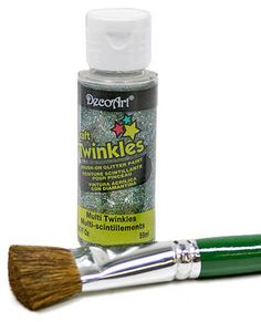 2oz Deco Art Craft Twinkles Multi Color Glitter Paint $2.29