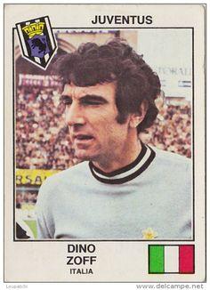 PANINI EURO FOOTBALL 1979 DINO ZOFF JUVENTUS ITALIA