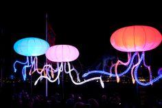Vivid Sydney Festival lights