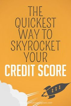 There's one key thing you can do to quickly improve your credit score. Find out what it is here! How To Fix Credit, Build Credit, Check Credit Score, Improve Your Credit Score, Paying Off Credit Cards, Rewards Credit Cards, Rebuilding Credit, Credit Repair Companies, Credit Card Interest