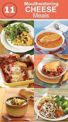 Nothing says fall like gooey comfort food! Here are 11 mouthwatering cheese meals