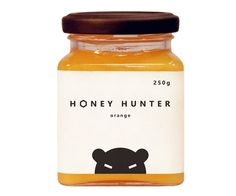 Cute honey packaging.