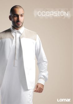 I like the vest look Arab Men Fashion, Mens Fashion Wear, Islamic Fashion, African Fashion, Jubbah Men, Mens Traditional Wear, Boys Kurta Design, Moslem Fashion, Kurta Men