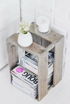 diy with a crate