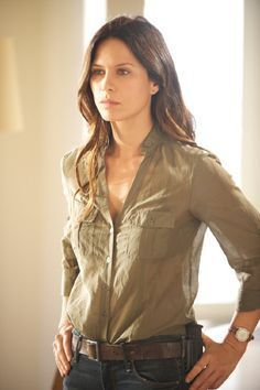 Rhona Mitra, Suit Shirts, Suits For Women, Jeans, Leather Jacket, Female, Sexy, Jackets, Gorgeous Women