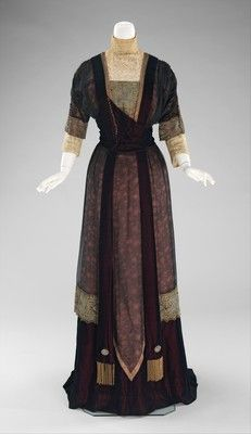Redfern (1847–1940)  Dress, Dinner  1909–11