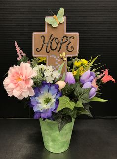Small Easter Arrangement by Andrea