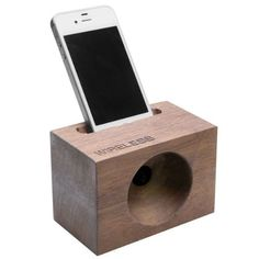WIRELESS ACOUSTIC AMPLIFIER WOOD SPEAKER