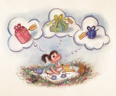 Keane Art, claireonacloud: My first book, ONCE UPON A CLOUD...