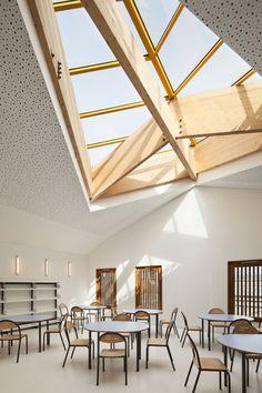 Kindergarten and Primary School in Saint-Denis -Architekten: AAVP, Paris Standort: 3 rue Cristino Garcia, F–93000 Saint-Denis
