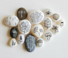 stone painting, pebble art, ROCK ROCKER