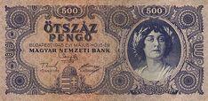 500 Пенге (1945) Венгрия (Hungary) Европа Gold Money, Hungary, Budapest, Old Photos, Vintage World Maps, Coins, History, Old Pictures, Historia