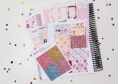 Sweet Life sticker kit  / Erin Condren sticker kit / Happy Planner / planner stickers / vertical sticker kit / weekly planner kit / marble