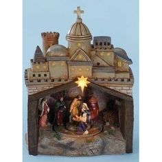 Found it at Wayfair - Mus LED Rotating Nativity Figurine Nativity Church, The Nativity Story, Christmas Nativity Scene, Christmas Figurines, Nativity Scenes, Christmas Time, Christmas Gifts, Nativity Sets For Sale, Nativity Scene Pictures