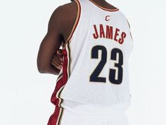 LeBron James has made his last big decision ... for awhile. No. 23 it is: http://yhoo.it/1q5FEAv #Cavs #NBA #Basketball