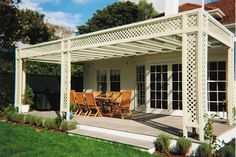 Given wide popularity of wooden lattice, are made to mimic coloration and pattern of wooden counterparts.New generation plastic lattice is made from enforced plastic making them stronger to hold decorations and plants. Plastic Lattice, Indoor Crafts, Consistency, Backyard Ideas, Craft Projects, Pergola, Outdoor Structures, Patio, Decorations