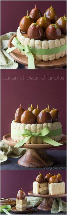 Pear Caramel Charlot