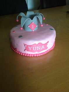 Smash taart voor yuna