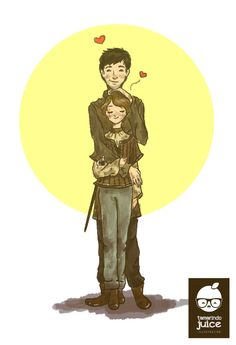 Arya and Gendry - they watch over one another #got #asoiaf