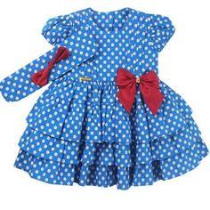 Cegonha Feliz Roupas Bebê Menina : Vestido Galinha Pintadinha Para Bebê