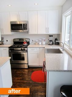 Before & After: Krista's Budget-Friendly, Modernized Kitchen Remodel | Apartment Therapy