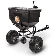 DR Tow-Behind Broadcast Spreader Cover up to square feet Spread fertilizers, soil amendments, seeds, and other granular materials easily with the Tow-Behind Broadcast Spreader. Holds an impressive 20 gallons. Atv Attachments, Yard Maintenance, Lawn And Garden, Square Feet, Baby Strollers, Seeds, Cover, Gardening, Baby Prams