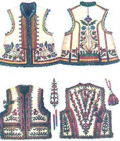 кептар - Пошук Google Embroidery Fashion, Diy Embroidery, Indian Jackets, Ukrainian Dress, Border Embroidery Designs, Fashion Design Portfolio, Hungarian Embroidery, Oriental Fashion, Folk Costume