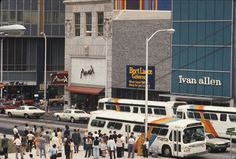 1974 view of Peachtree Street at Auburn Avenue.