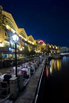 Clarke Quay, Singapore.                              THE LIBYAN Esther Kofod                 www.estherkofod.com