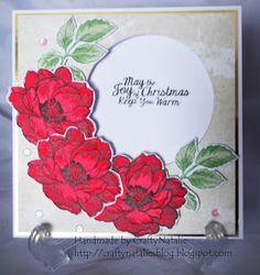 Christmas altenew card. Handmade by CraftyNatalie. Craftynatalies blog!