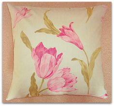 Vintage Crowson Cushion Cover with Zip Fastening £9.95 from Personal Space Interiors | wowthankyou.co.uk